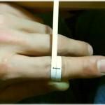 【自宅で出来る】自分の指輪サイズを簡単に計る方法